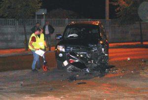 Śmiertelny wypadek zudziałem burmistrza Pajęczna